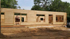 Log Walls Up
