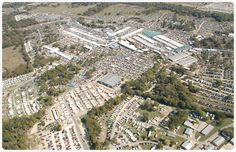 Canton First Monday overhead view